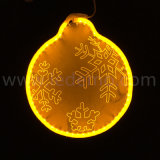 2017 New Christmas Decoration LED Snow Acrylic Neon Motif Light