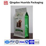 Custom Printed Self Standing Plastic Dog Food Packaging Bag