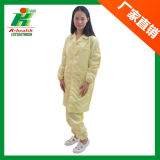 ESD Work Gown/Smock Clothing for Cleanroom Use