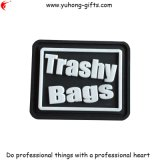 2015 New Design Bag Rubber PVC Tag (YH-RL052)