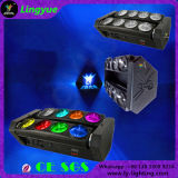 8X10W LED Moving Head Stage Beam Mini Spider Light