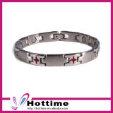 Bio Magnetic Stainless Steel Bracelet with Germanium (CP-JS-BL-176)