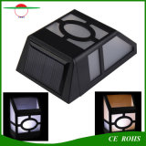 Waterproof Solar Wall Lamps ABS Solar LED Path Light Outdoor Garden Aisle Fence Lights