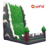 Inflatable Green Tree Rock Climbing Wall Sports Game (CHSP192)