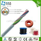 Ce Certificate Approved 4*0.5mm/5*0.5mm/6*0.5mm Signal Control Cable Liyy