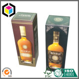 Color Print Vodka Wine Cardboard Paper Packaging Box