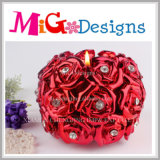 Modern Design Flower Shaped Tea Llight Wedding Favor Candle Holder