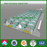 Prefabricated Light Steel Structure Airport Terminal Hall in Nigeria