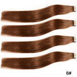More Color for Human Hair Extensions Tape Hair