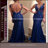 Luxury Lady Low Back Evening Party Dress (TKYA93)