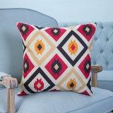 Digital Print Decorative Cushion/Pillow with Ikat Geometric Patern (MX-04A/B/C/D/E)