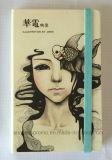 Customized Full Color Printed PU Hardcover Moleskine Notebook