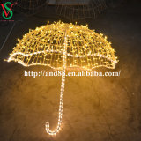 Outdoor 3D Decorative LED Umbrella