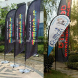Customized Beach Flag Flying Banner and Feather Flag