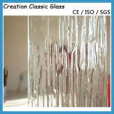 4mm Clear Nashiji Pattern Glass Bronze Wired Glass High Quality