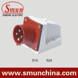 Panel Plug 16/32A 4pin 380V IP44 Cee Wall Mounting Plug
