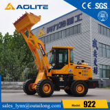 New Factory Small Articulated Hydraulic Small Wheel Loader with Joystick