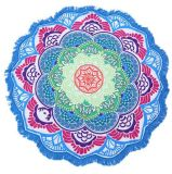 Customized Polyester Round Beach Towel Beach Sitting Mats Yoga Mat Wall Hanging Ornaments