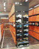 Supermarket or Retail Store Metal Gondola Shelf for Shoes, Clothes, and Trousers for Nike
