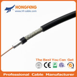 PTFE Insulation FEP Rg179 Coaxial Cable 50 Ohms CCTV Cable