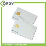 Smart contact blank card with sle4442 sle5542 chip