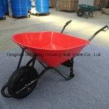 Strong Struictrue 130kg Plastic Tray Wheelbarrow (WB7208)