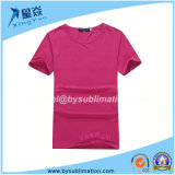 Modal Rose Red Sublimation Tshirt with Round Neck