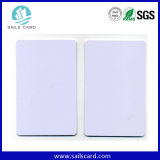 Thermal Printable White Plastic PVC Card with Overlay Lamination