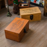 Custom Cosmetic Pine Wood Box, Cases for Promotion