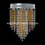 Gold K9 Crystal Small LED Ceiling Lamp (AQ-88232)