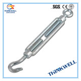 Forged Carbon Steel Galvanized DIN 1480 Standard Wire Rope Turnbuckle