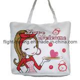 Leisure Canvas Shoulder Bag with Lining / Handbags