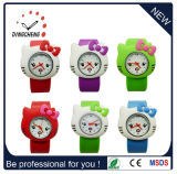 Cheap Wholesale Kids Slap Silicone Wrist Watches for Children (DC-690)