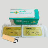 CE/ISO Approved Chromic Catgut Surgical Suture (MT580G0704)