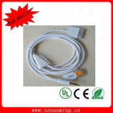 2 In1 Car Audio 3.5mm Aux Auxiliary Cable for iPhone