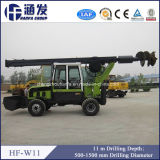 Hf-W11 Wheel Type Rotary Drilling Rig for Sale