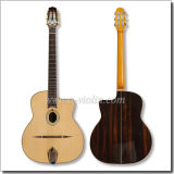 Arched Top Left Hand Gypsy Jazz Guitar (AGJ600)