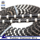 11.5mm Diamond Cutting Cable Saw for Granite Quarrying