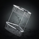 Bathroom Accessories of Chrome Metal Bathroom Shower Basket (SUS304)