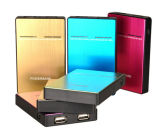 Double USB Output 5000mAh Power Bank External Battery Pack