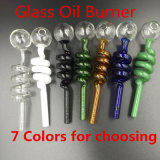 Glass Oil Burner for Smoking Pipe