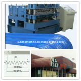 Colour Coated Steel Roof Panel Crimping Curving Machine
