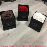 Mini Black Acrylic Flower Box