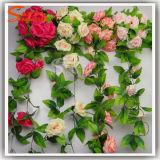 Artificial Silk Rose Flower IVY Vine