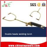 Double Heads Welding Torch for Hoe Selling!