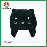 100% Acrylic Cat Beanie Hat for Kids (CPA-1165)