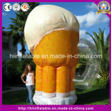 Hot Advertising Product Replica Inflatable Beer Cup Mug