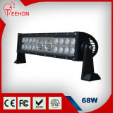 68W Straight Hybrid Row LED Light Bar for Cars