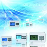 Floor heating thermostat for thermostatic valva