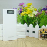 White Color Elegant Design 8000mAh Battery Power Charger